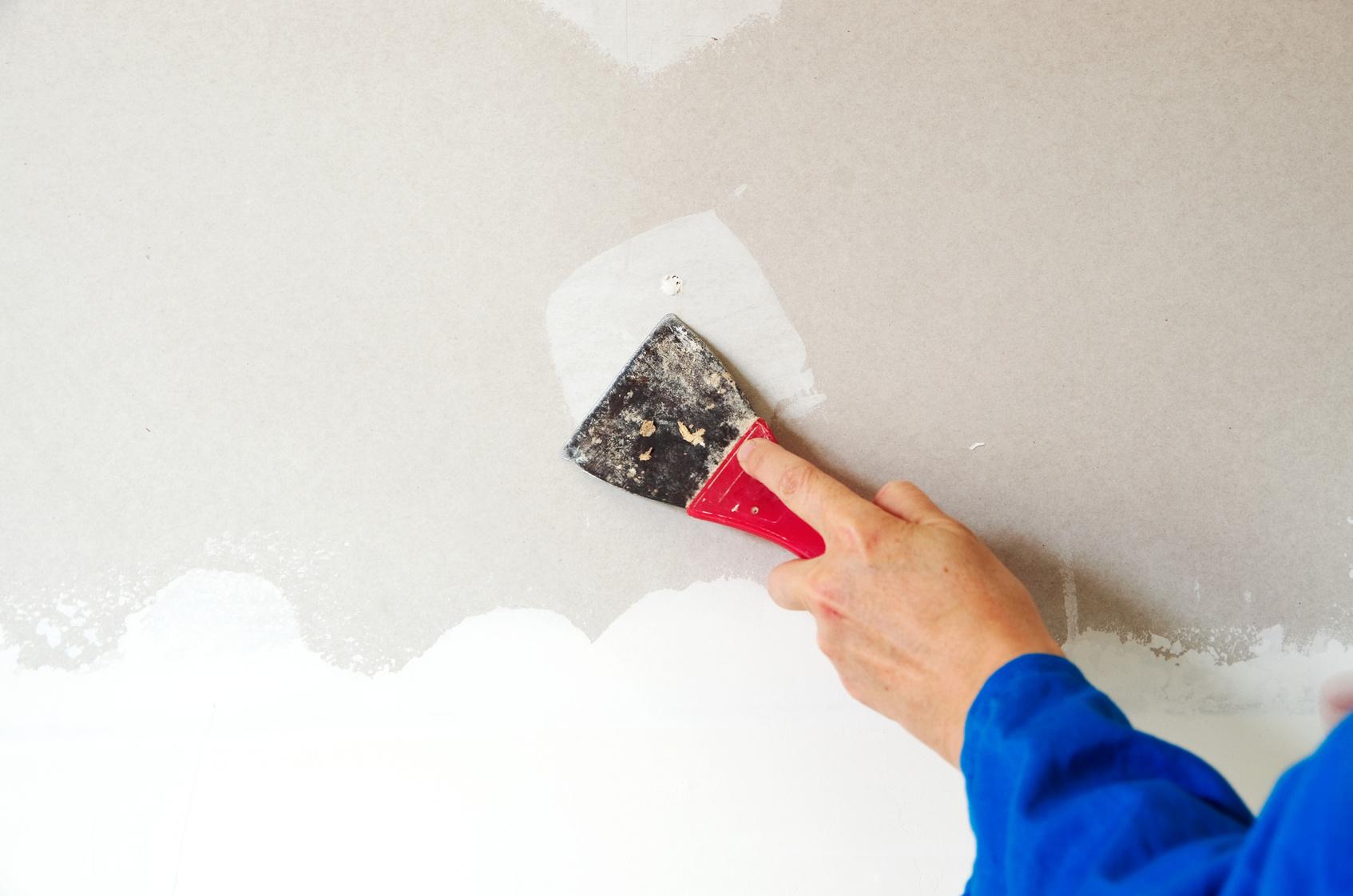 Tip pintores c mo rellenar los agujeros de la pared - Como secar las paredes despues de la inundacion ...