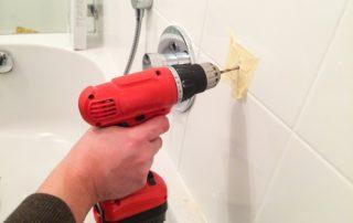 Cómo se taladra un azulejo sin romperlo