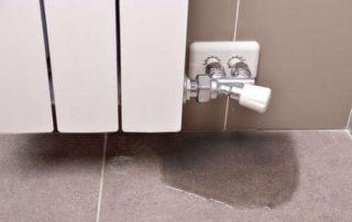 Reparar fuga de agua en un radiador